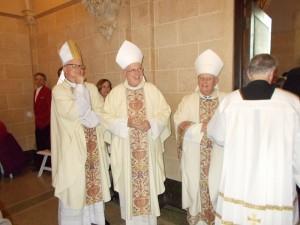 Bishops Hying, Ricken, and Callahan