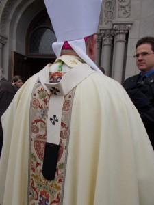 Archbishop Listecki's pallium