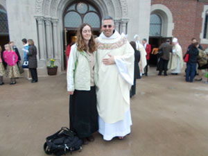 Fr Michael Berry, OCD and me