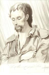Saint Benedict Joseph Labre by Kathy