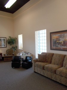 Women's Care Center reception area