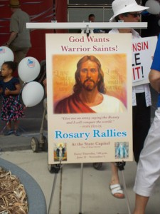 Rosary Rally Poster