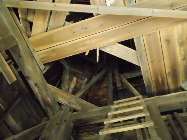 Holy Redeemer steeple ladder