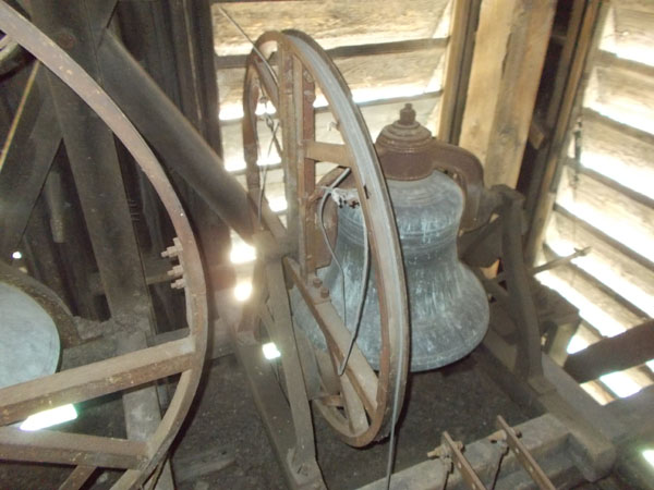 The smallest of the Holy Redeemer bells