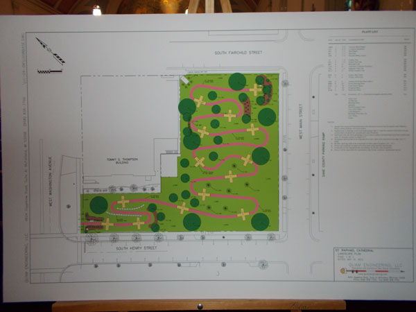 Landscape plan