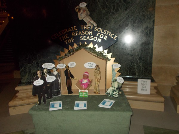 FFRF's complicated display.