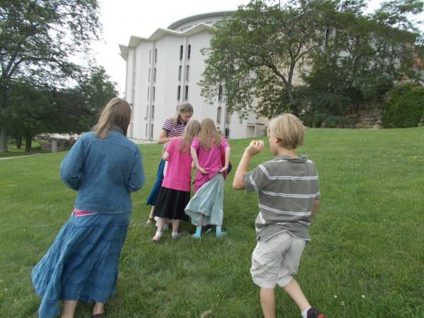 Kids OL rosary chapel