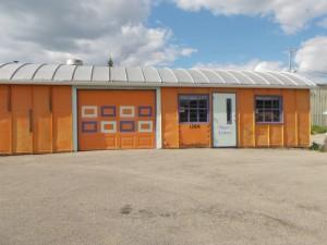 Vinnie's Lockers Building