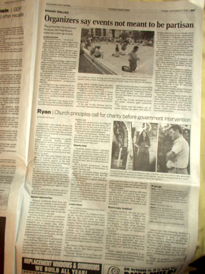 WI State Journal Catholic articles Sept 9 2012
