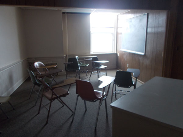 A room in Holy Redeemer School