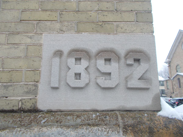 Holy Redeemer school was built in 1892, and is the oldest extant school building in Madison.