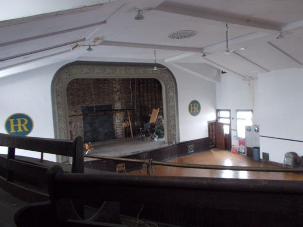 Holy Redeemer School Auditorium stage