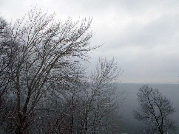 Lake Mendota, not yet frozen