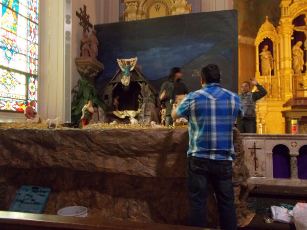 Setting Up the Creche