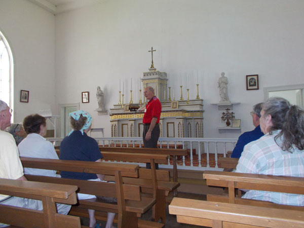Historic St Augustine's Church in New Diggings